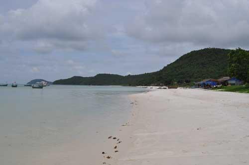 Bãi Sao, une des plus belles plages de l'île de Phu Quoc.