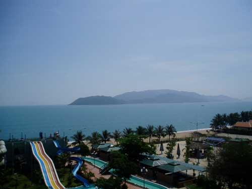 Baie de Nha Trang (Vietnam).