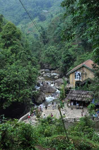Le village Cát Cát.