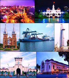 Un aperçu de Saïgon (HoChiMInh ville).