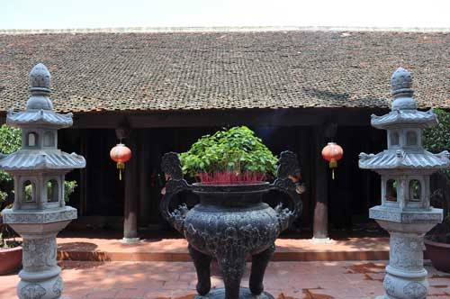 La pagode Trấn Quốc.