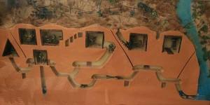 Schéma des tunnels de Củ Chi.