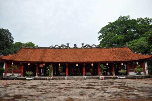 Le Temple de la Littérature (Văn Miếu).