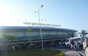 L'aéroport international Cam Ranh de Nha Trang.