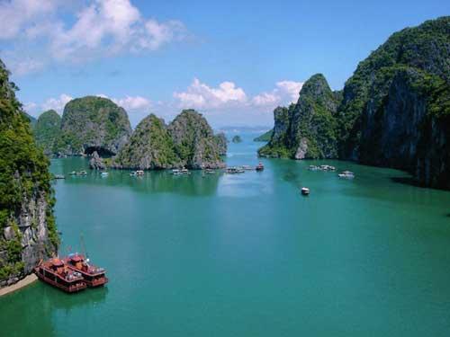 La baie de Hạ Long.