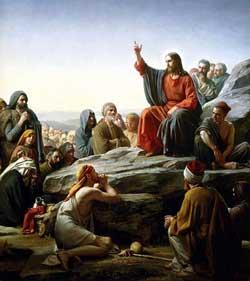 Sermon sur la montagne.