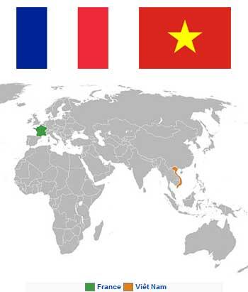 Lisez la suite pour savoir plus sur les relations entre la France et le Vietnam !