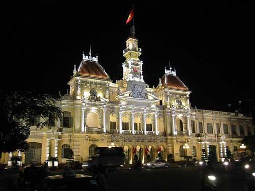 Hôtel de Ville de Saïgon (Hồ Chí Minh ville)
