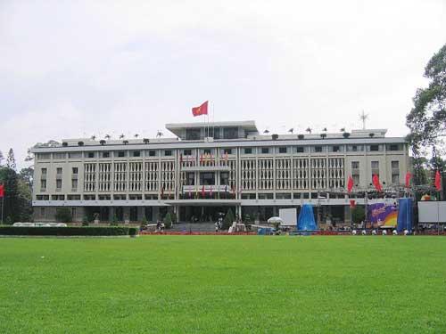 Palais de la Réunification (Palais de l'Indépendance autrefois).