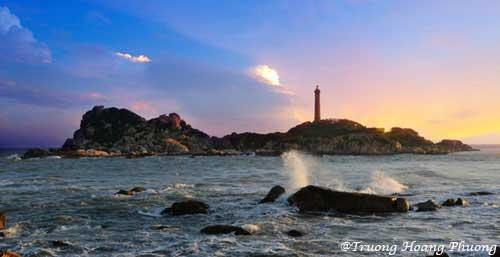 Le phare de Kê Gà.