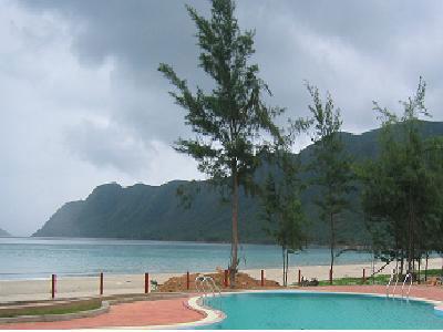 Une plage de Côn Đảo.