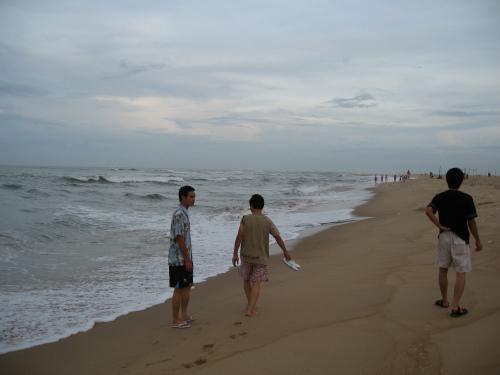 La plage de Nhât Lê à Quảng Bình.