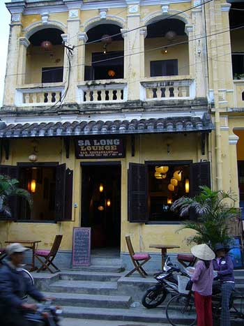 Style colonial de la vieille ville de Hội An.