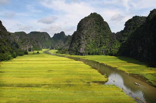 Magnifique paysage de Tam Cốc.